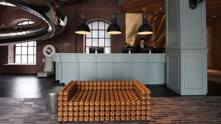 The Red Dot Hotel in Taichung City, Taiwan, welcomes you with quirky and hip vibes