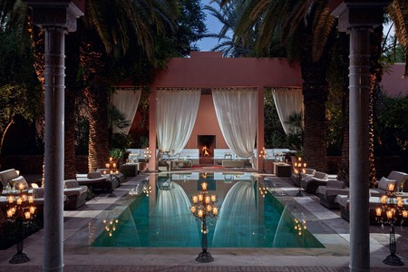 Royal Mansour Marrakech was commissioned by the Moroccan king