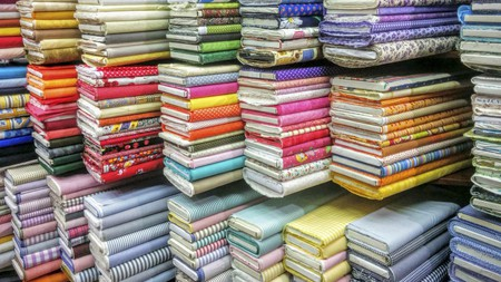 You can find fabulous fabrics in stores across London