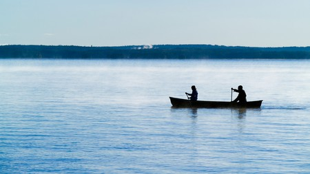 Sebago Lake, the second-largest lake in Maine, is a hotspot for boaters