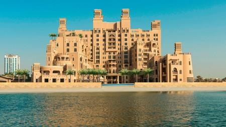 Sheraton Sharjah Beach Resort and Spa is a typically grand Arabian-style beach resort