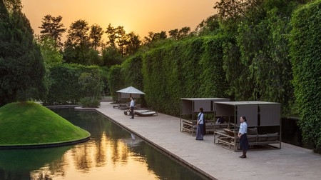 Enjoy peace and luxury with a stay at the Roseate in New Delhi