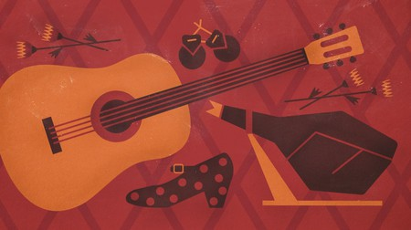 A traditionally made Spanish guitar makes a nice souvenir – but it doesn't come cheap