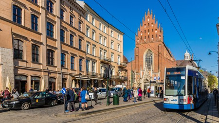 Many budget-friendly accommodation options in Krakow put you within walking distance of the Old Town
