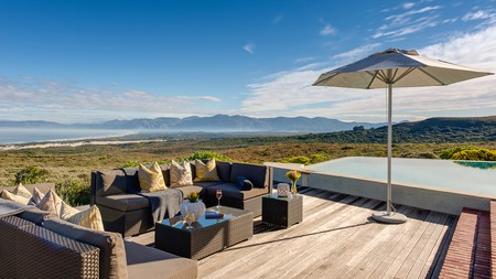 Grootbos is a luxury eco-reserve about a two-hour drive from Cape Town