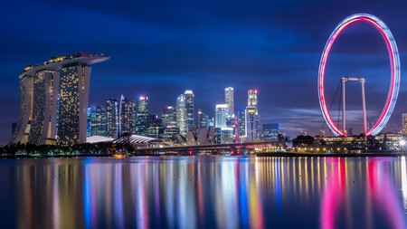 Stick to the law while visiting attractions such as Marina Bay Sands and the Helix Bridge