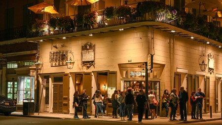 Visiting the bars and clubs of Bourbon Street in the French Quarter is a classic thing to do at night in New Orleans
