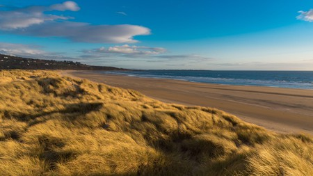 If you're after peace and quiet, you can't go wrong with a long walk down Harlech Beach on a sunny day