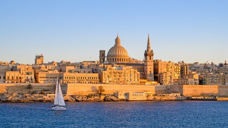 The architecture of Valletta is a unique blend of Arabic and Mediterranean