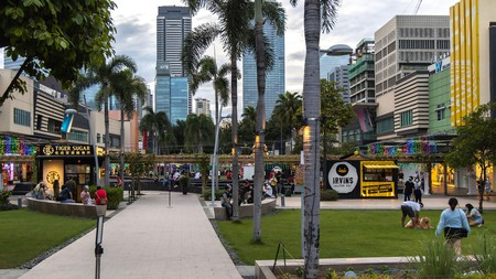 If you're looking for vibrant nightlife and bars, visit the Bonifacio development in Taguig, Manila