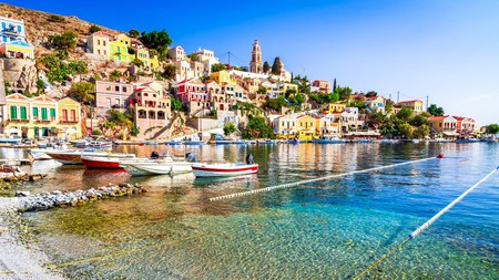 Symi is a quiet Greek island with a wealth of charming and stylish places to stay