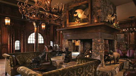 The Tudor-style Grand Bohemian Hotel resembles a luxurious European hunting lodge