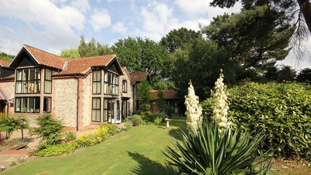 You can book a private jacuzzi suite at Felbrigg Lodge Hotel