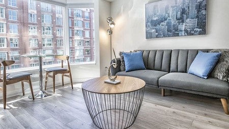 Feel like a star at these sleek, sophisticated condos
