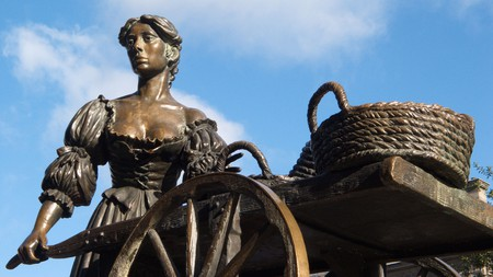 While Molly Malone is immortalised in a popular Irish song, no one knows if she was real