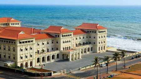 Immerse yourself in the splendour of the Galle Face Hotel, built in 1864