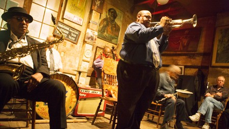 Jazz clubs like Preservation Hall are the beating heart of the New Orleans music scene