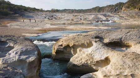 About an hour's drive from Austin, Pedernales Falls State Park is an ideal getaway for outdoor adventurers