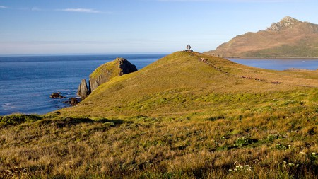 Cape Horn, the southern most point in the South America