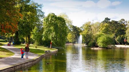 Cannon Hill Park, in Edgbaston, Birmingham, West Midlands.