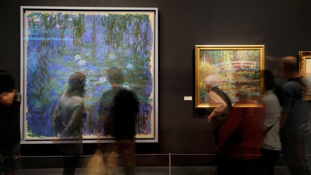 The Musée d'Orsay's extensive collection of Impressionist works makes it an ideal place to see Monet's iconic artworks