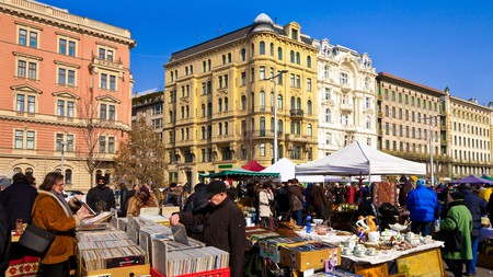 Naschmarkt is Vienna's most famous food and flea market