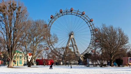 Vienna's historic Ferris wheel in the Prater, forever linked with movie classic The Third Man
