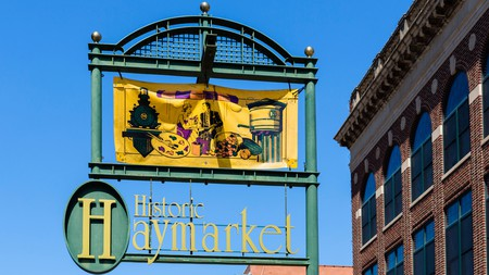 The Haymarket district sits at the center of Lincoln's food scene