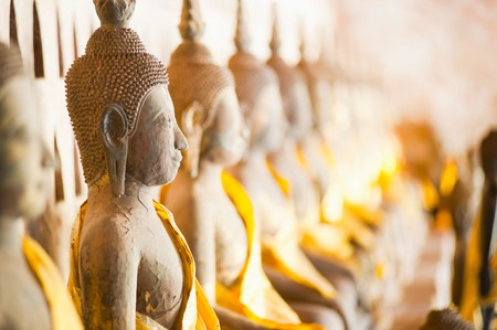 Wat Si Saket is one temple you can't miss on a trip to Vientiane