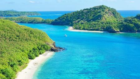 Drawaqa Island in Fiji is now best known for dive-friendly reefs