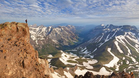 The Colorado Rockies are an incredible hiking spot
