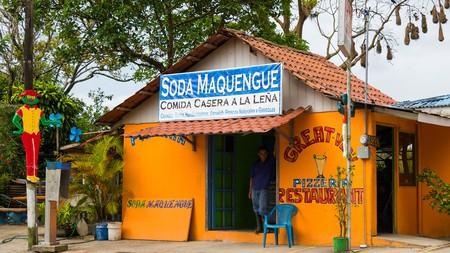 A small roadside restaurant, Costa Rica