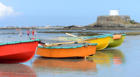 Explore the area's history and relax at the seaside in Guernsey, Channel Islands