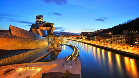 Bilbao is home to the Frank Gehry-designed Guggenheim museum