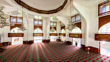 The Grand Friday Mosque in Malé, Maldives, is one of the biggest mosques in South Asia