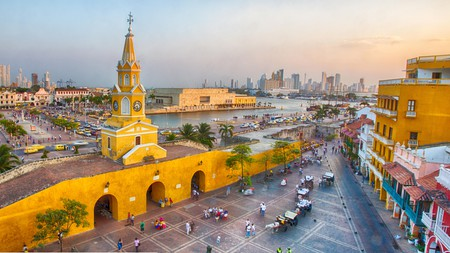 The colonial city of Cartagena is packed with history