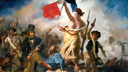 Liberty Leading the People, by Eugène Delacroix, 1830