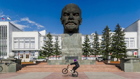 Ulan-Ude is close to the Mongolian border