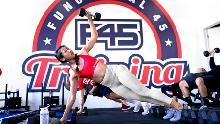 Blast through 45-minute-long functional training sessions at F45