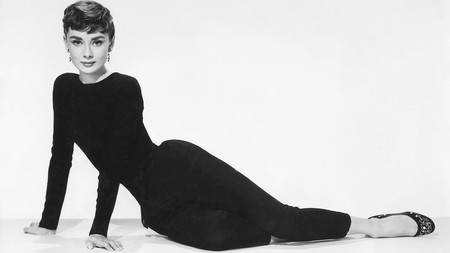 Audrey Hepburn, one of the greatest stars of Hollywood, as seen in Billy Wilder's 1954 movie, Sabrina