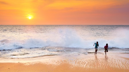 Sri Lanka is home to a selection of beautiful sandy beaches