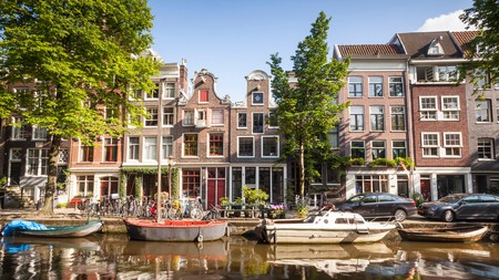 Embrace Amsterdam's unique traits and choose to stay in an apartments overlooking a canal