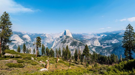 The hike up to Half Dome in Yosemite National Park comes with breathtaking views