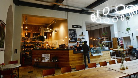 Head to Hallesches Haus for delicious coffee, hip-hop music and a relaxing space to work | Photo: Jens Kalaene/dpa/Alamy Live News