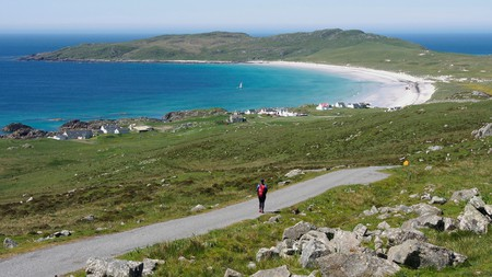 Balephuil bay from Carnan Mor, Tiree