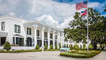 The historic boutique White House Hotel in Biloxi, Mississippi