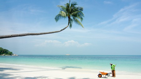 It's only an hour by ferry from Singapore – yet with endless sand and sky, Bintan feels a world away