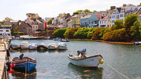 Roundstone in County Galway is just one of Ireland's many picturesque and charming villages