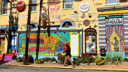 Randyland art gallery, in Northside, Pittsburgh, is a fun place to discover local street art