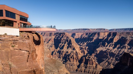 Enjoy incredible views from the Grand Canyon Skywalk on the west rim of this Arizona giant